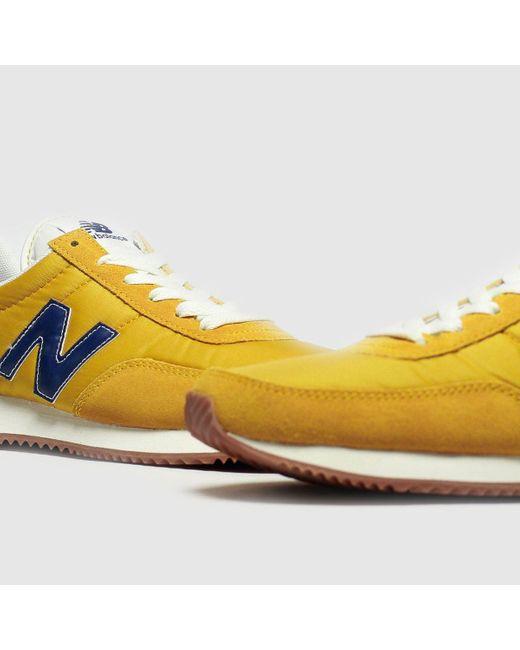 New Balance Suede Blue \u0026 Yellow 720 V1