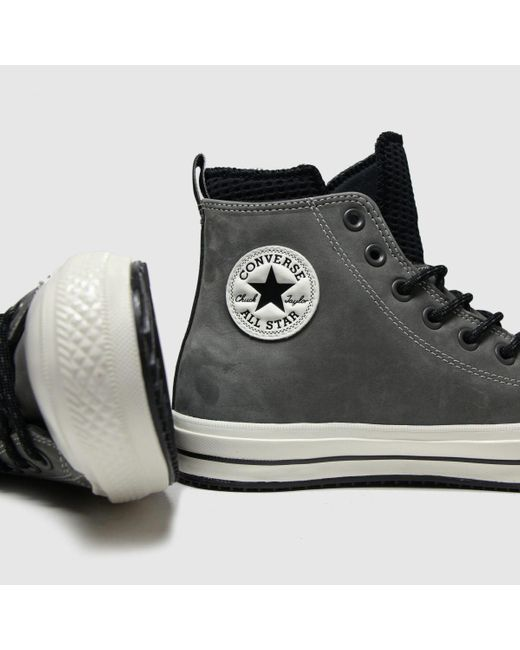 Converse Gray All Star Wp Boot Hi Trainers for men