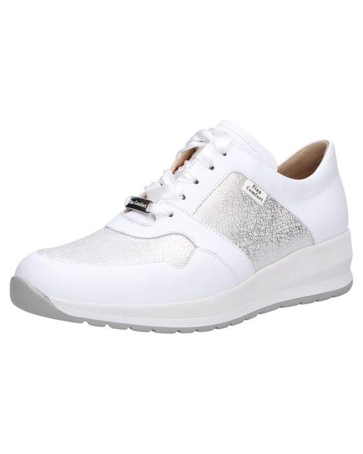Finn Comfort White Sneaker