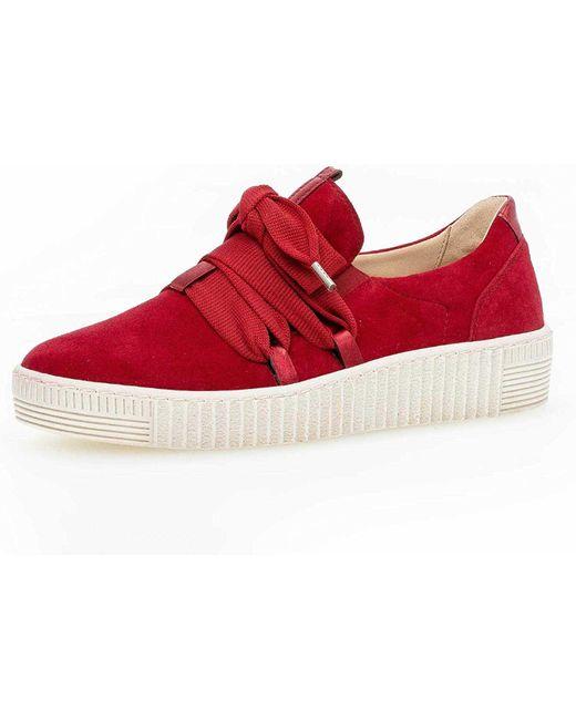 Gabor Red Sneaker