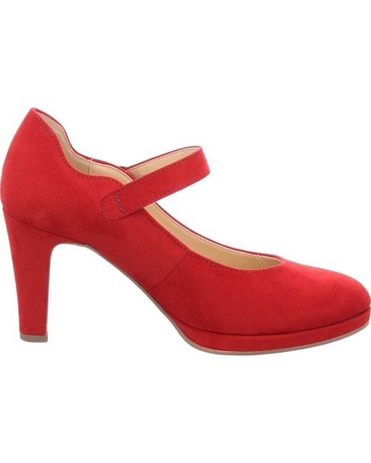 Gabor Red Spangenpumps