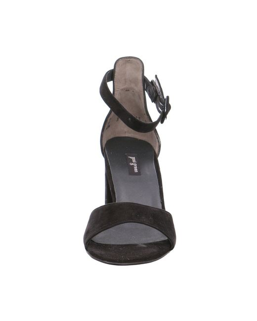 Paul Green Black Klassische Sandalen