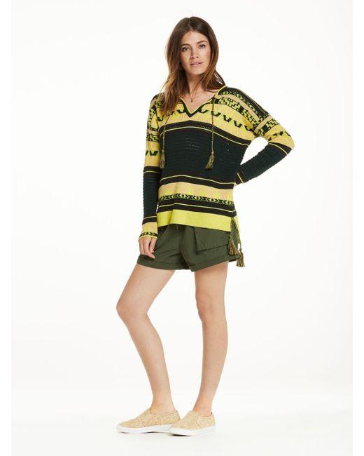 Scotch & Soda | Multicolor Tasseled Sweater | Lyst