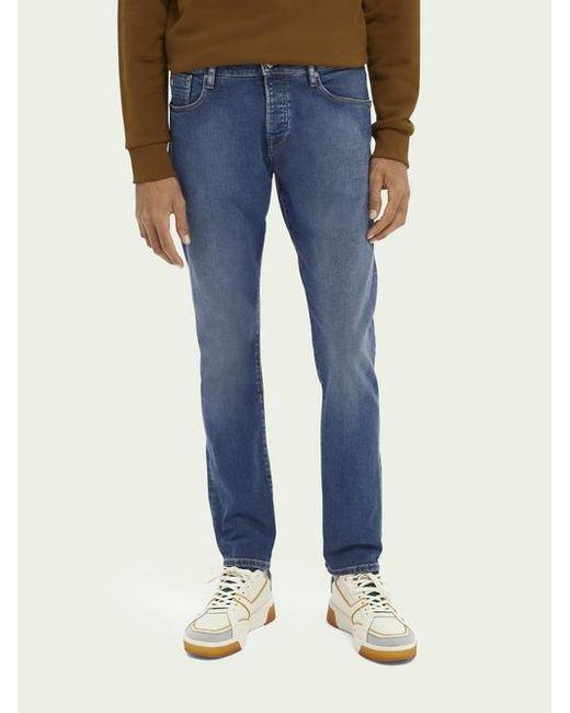Scotch & Soda Ralston Regular Slim Fit Jeans – Nouveau Blue voor heren