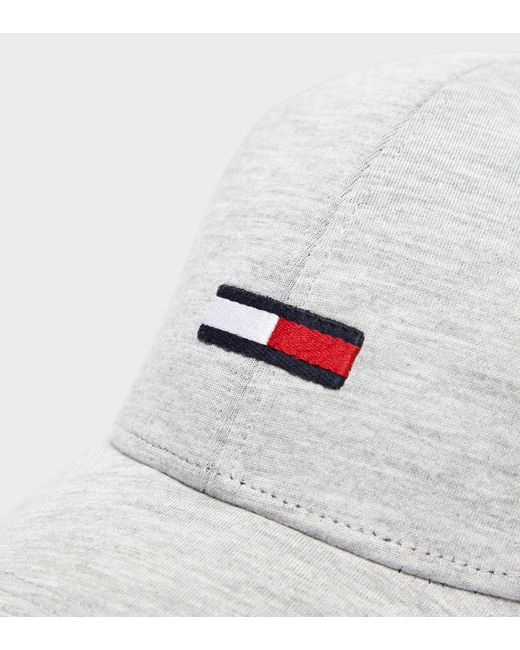 ae9ce37fcf4 ... Tommy Hilfiger - White Jersey Flag Cap for Men - Lyst ...