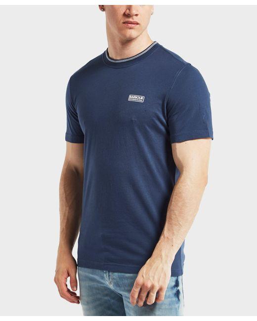 Barbour | Blue International Deals Short Sleeve T-shirt for Men | Lyst