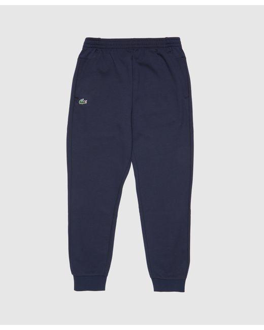 Lacoste Blue Premium Fleece Joggers for men