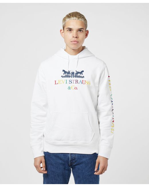 Dobre Brothers Distorted Square Logo Printed Hoodie