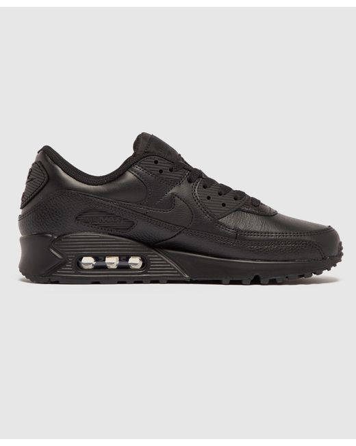 Nike Air Max 90 Leather in Black for Men - Lyst