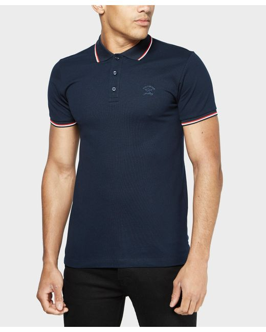 Paul And Shark | Blue Tipped Polo Shirt - Exclusive for Men | Lyst