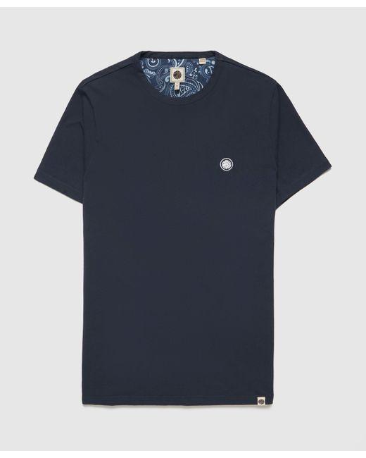 Pretty Green Blue Mitchell Short Sleeve T-shirt for men