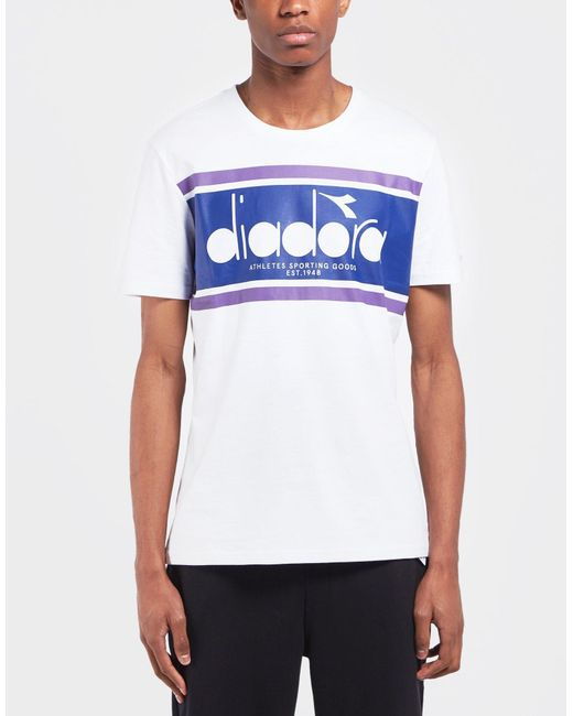 Diadora - Multicolor Spectra Short Sleeve T-shirt for Men - Lyst