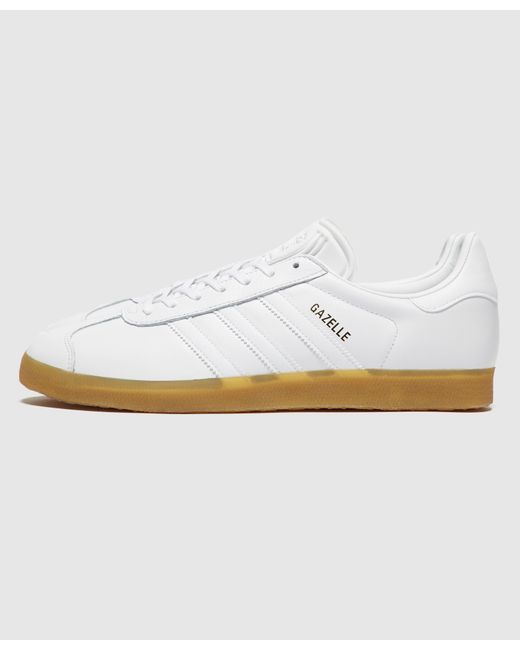 adidas Originals Suede Gazelle in White