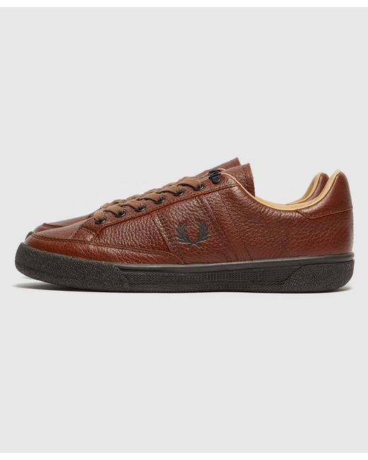 Fred Perry B31 Leather Trainers in