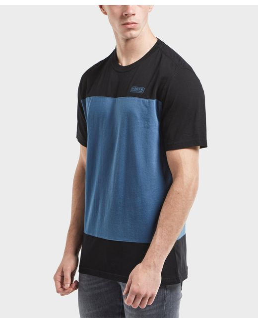 Barbour | Multicolor International Panel Short Sleeve T-shirt for Men | Lyst