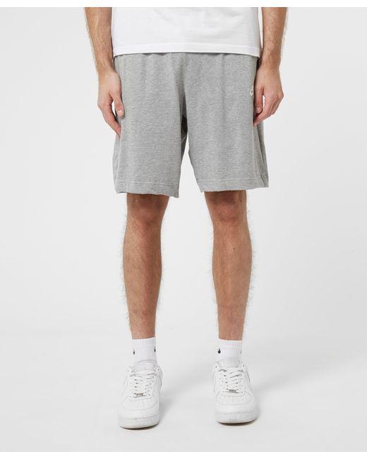 Nike Gray Foundation Shorts for men