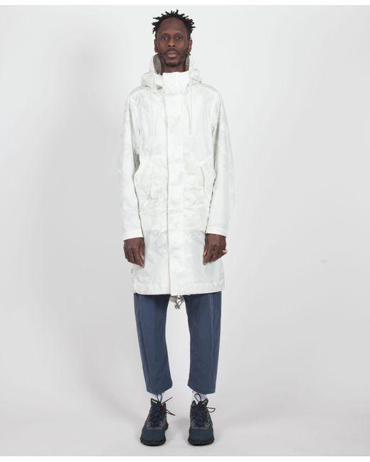 3152a4fd168f Lyst - Nike White light Bone Leaf Camo Parka in White for Men