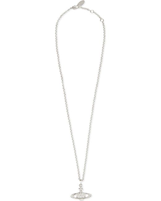 Vivienne Westwood | Metallic Bas Relief Orb Pendant Necklace | Lyst