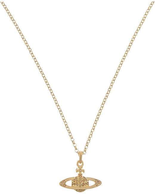 Vivienne Westwood | Metallic Mini Bas Relief Necklace | Lyst