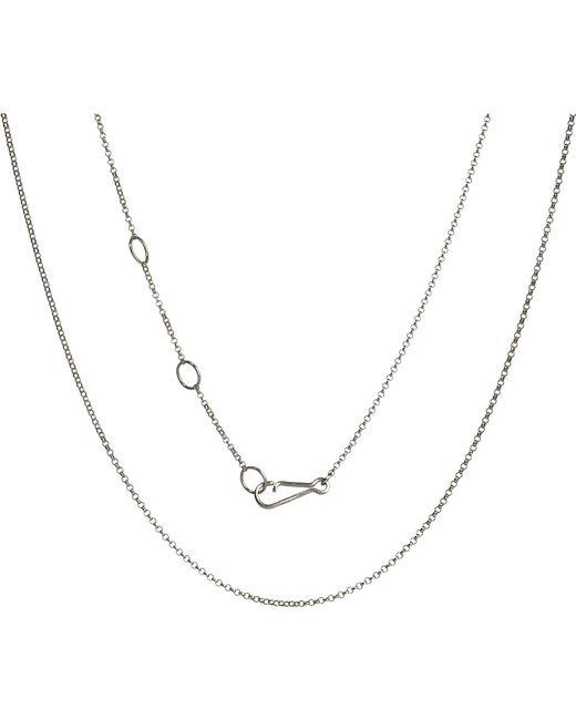 Annoushka | Metallic 18ct White-gold Classic Mini Belcher Chain | Lyst