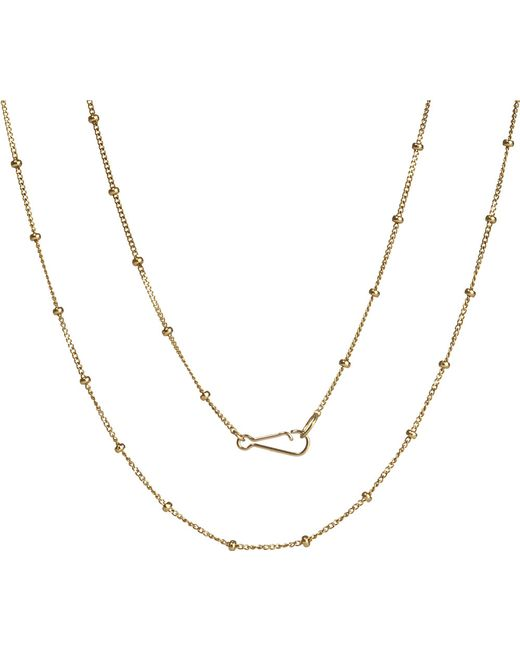 Annoushka | Metallic Classic Saturn 18ct Yellow-gold Short Chain | Lyst