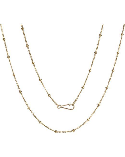 Annoushka   Classic Saturn 18ct Yellow-gold Long Chain   Lyst