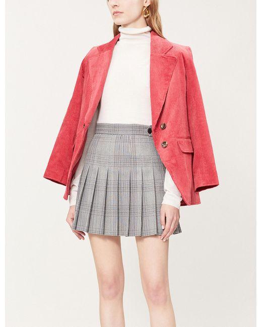 Maje - Multicolor Jalaime Jacquard Mini Skirt - Lyst
