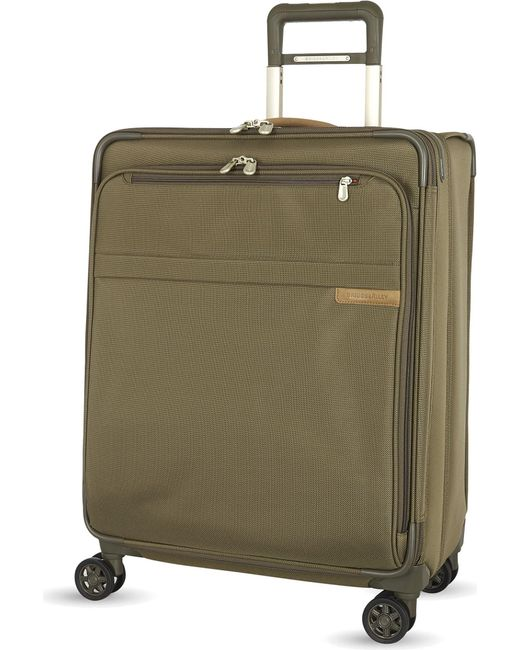 Briggs & Riley - Black Medium Expandable Spinner Suitcase 63.5cm for Men - Lyst