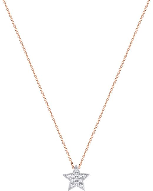 The Alkemistry - Metallic Julianna Himiko 14ct Rose Gold And Diamond Necklace - Lyst