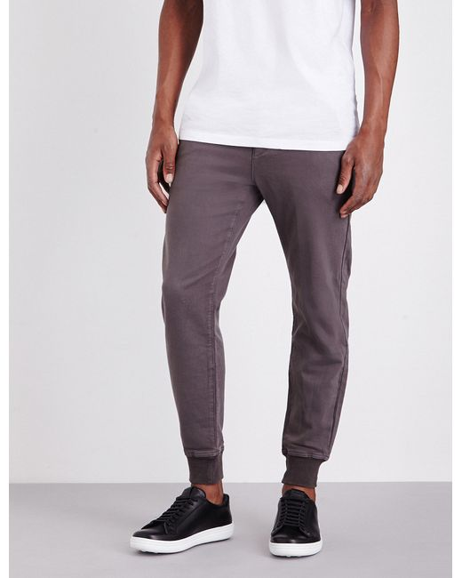 PAIGE - Gray Baxter Stretch-jersey Jogging Bottoms for Men - Lyst