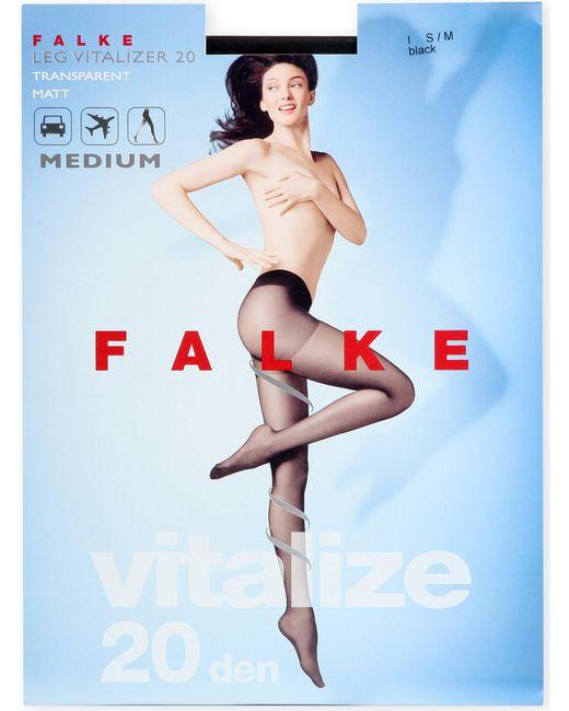 Falke - Black Vitalize 20 Denier Tights - Lyst