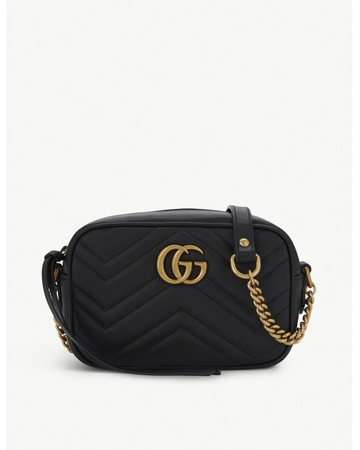 Gucci Marmont Mini Gg Logo Quilted Camera Dusty Pink Nude