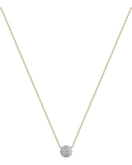 The Alkemistry - Black Lauren Joy Mini 14ct Yellow-gold And Diamond Necklace - Lyst
