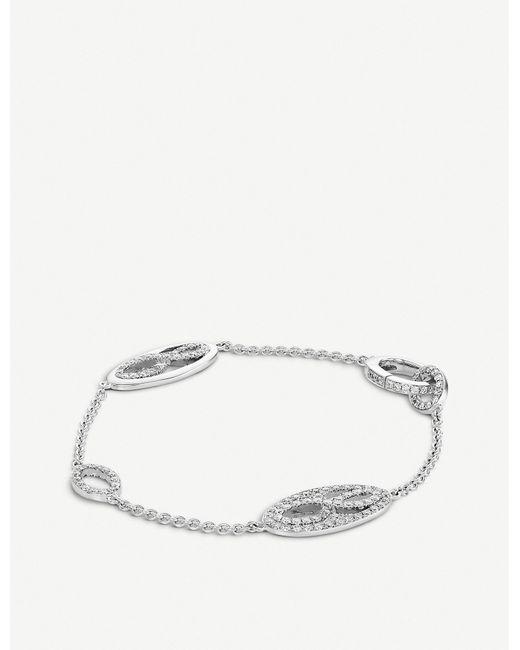 BUCHERER JEWELLERY Metallic Vivelle 18ct White-gold And Diamond Bracelet