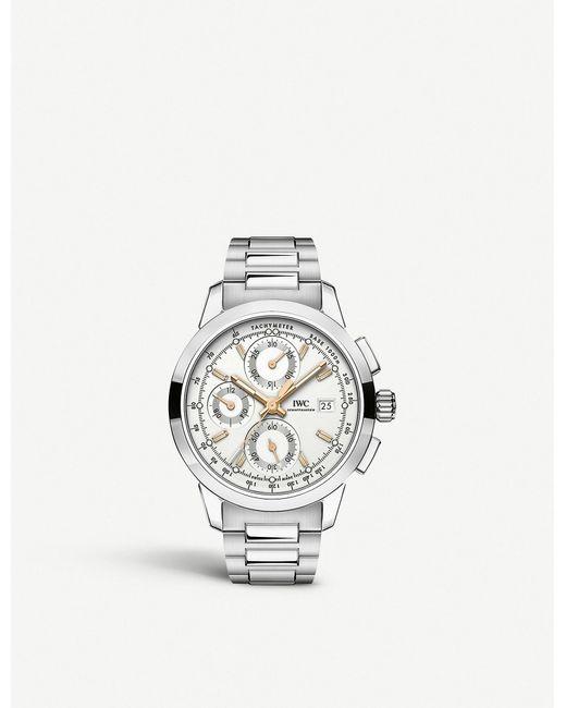 brand new b5b59 814b0 Men's Metallic Iw380801 Ingenieur Stainless Steel Watch