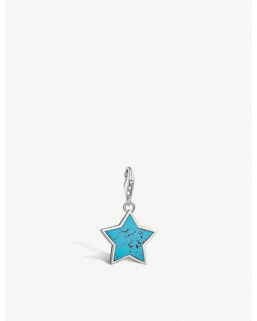 Thomas Sabo - Metallic Star Sterling Silver Charm - Lyst