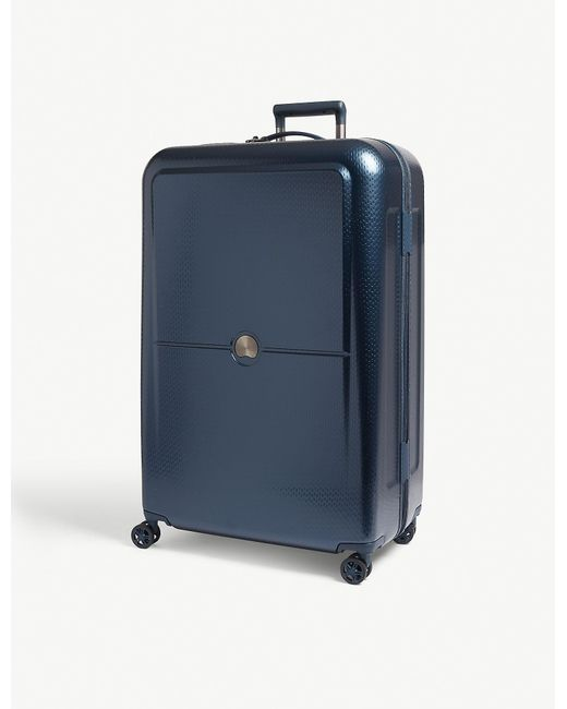d21824996 Delsey Night Blue Turenne Four Wheel Suitcase in Blue for Men - Lyst