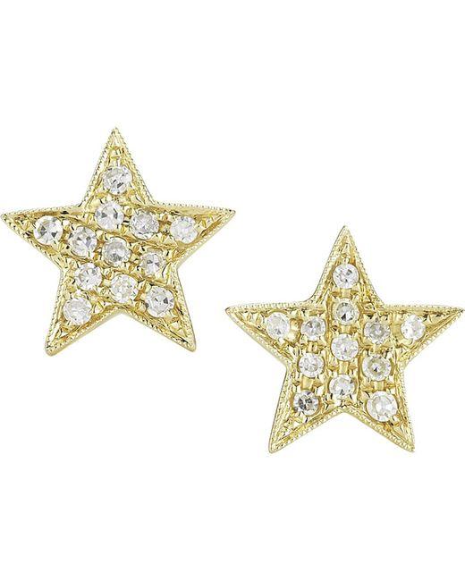 The Alkemistry | Metallic Dana Rebecca 14ct Yellow-gold Earrings | Lyst