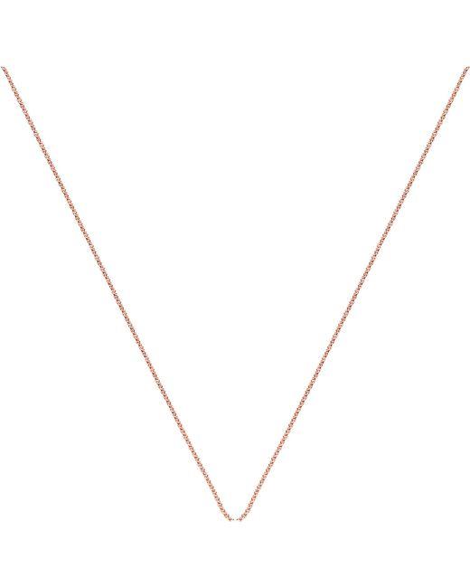 Monica Vinader | Metallic 18ct Rose Gold-plated Vermeil Fine Chain | Lyst