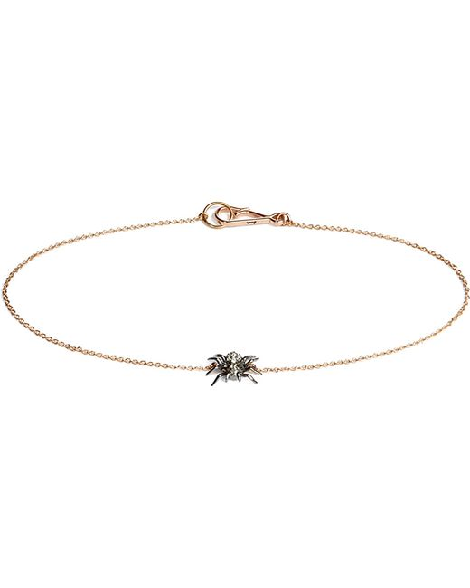 Annoushka | Love Diamonds 18ct Yellow-gold Horseshoe Bracelet | Lyst