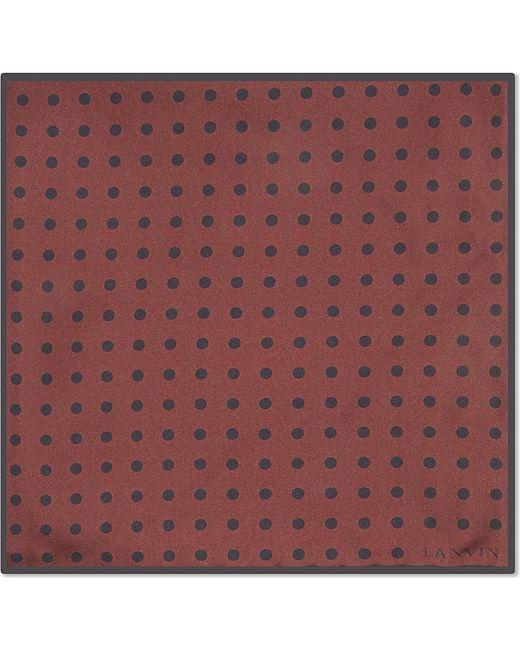 Lanvin | Red Degradé Spotted Silk Tie for Men | Lyst