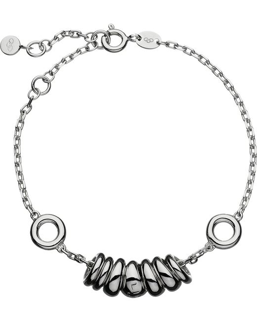 Links of London   Metallic Sweetie Drops Sterling Silver Bracelet   Lyst
