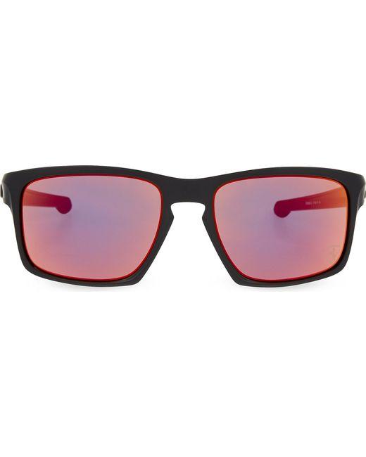 5b5550779b Lyst - Oakley Rectangle Sunglasses in Black