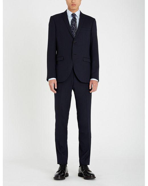 Tiger Of Sweden - Blue Slim-fit Woven Suit for Men - Lyst