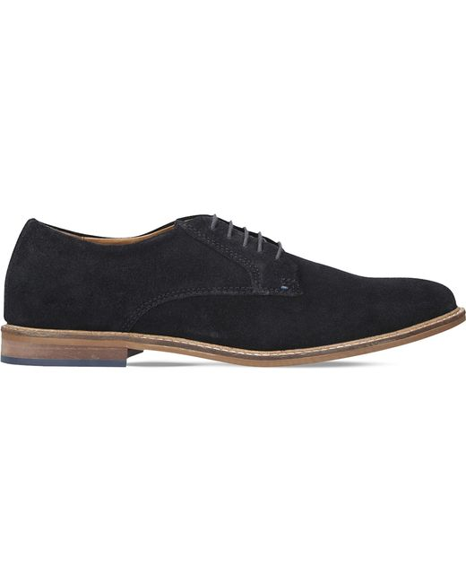 Kurt Geiger | Blue Donald Suede Derbies for Men | Lyst