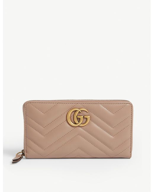 Gucci Multicolor Marmont Quilted Leather Wallet