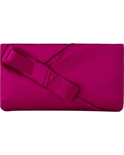 L.K.Bennett   Purple Frances Satin Shoulder Bag   Lyst