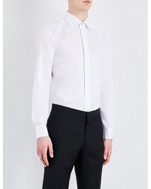 Eton of Sweden   White Slim Fit Formal Shirt for Men   Lyst