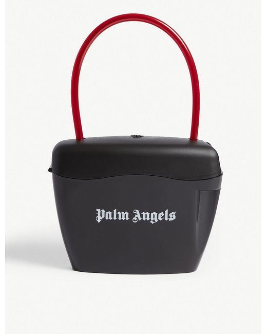 Palm Angels - Black And White Padlock Bag - Lyst