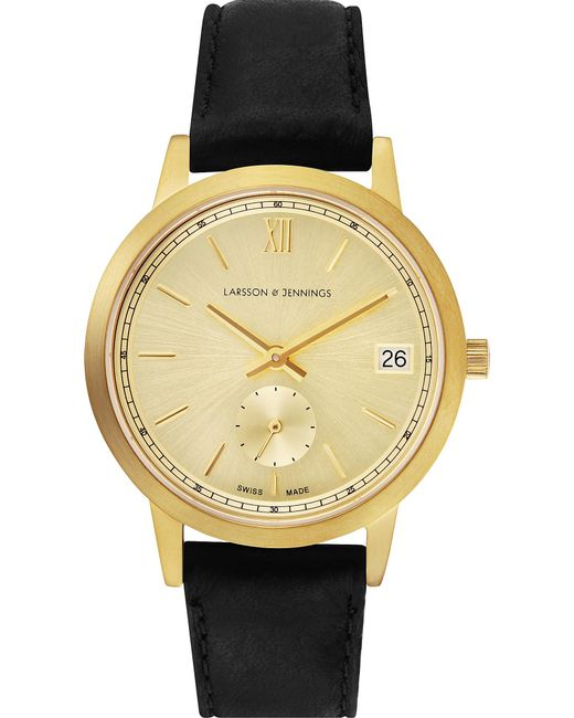 Larsson & Jennings - Metallic Saxon Gold-plated Stainless Steel Watch - Lyst